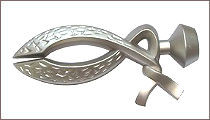 карнизы для штор металлические наконечник ем139