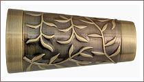 карнизы для штор металлические наконечник севилья