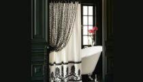 Дизайн штор в ванную
