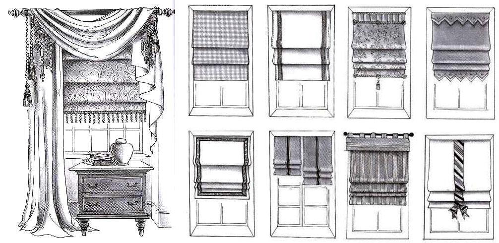 римские шторы киев  купить